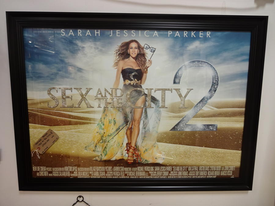 Framed Original Movie Poster Sex In The City2