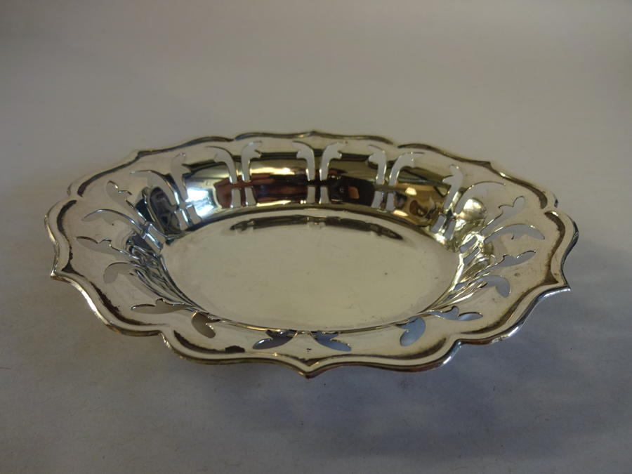 Solid Silver Dish