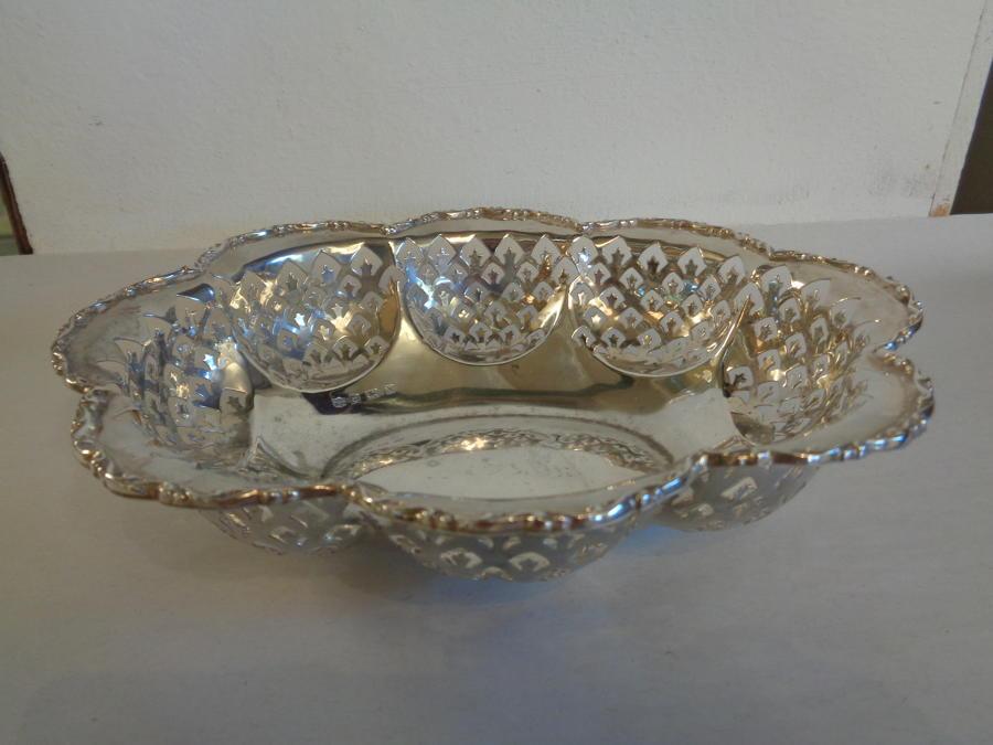 Solid Silver Dish Birmingham c1920
