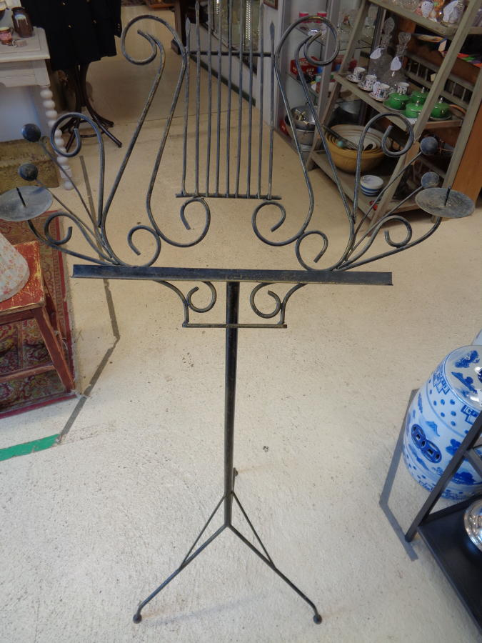 Music Stand - Wrought Iron