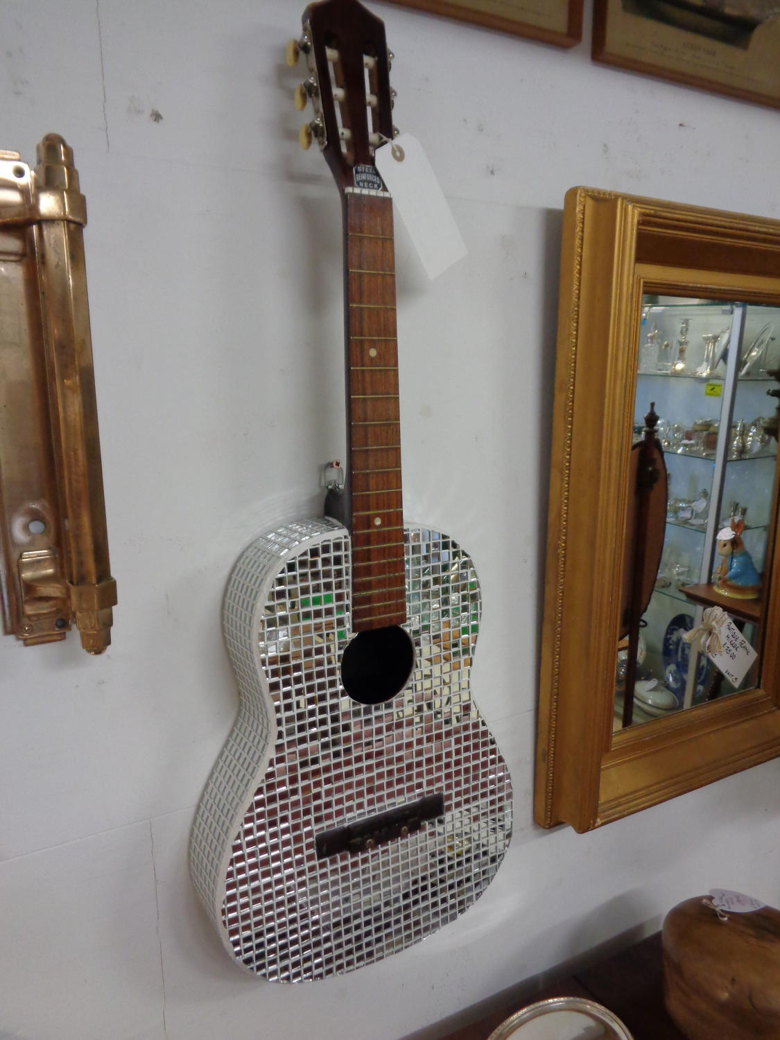 Bespoke Handmade Mirrored Guitar