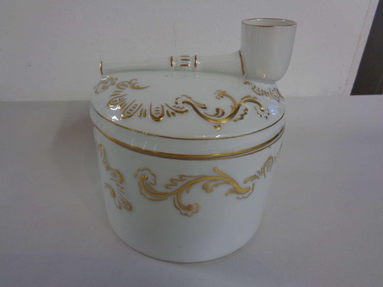 Antique Pipe Tobacco Humidor Jar