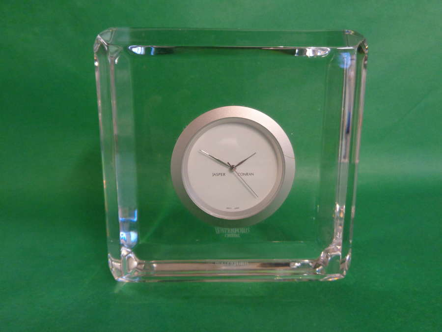 Jasper Conran Waterford Crystal Clock