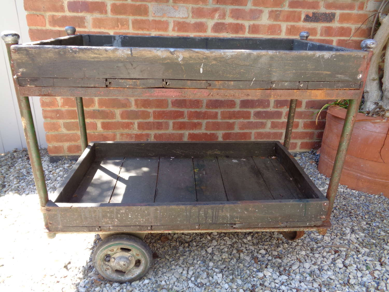 Vintage Dudley Heavy Duty Industrial Trolley