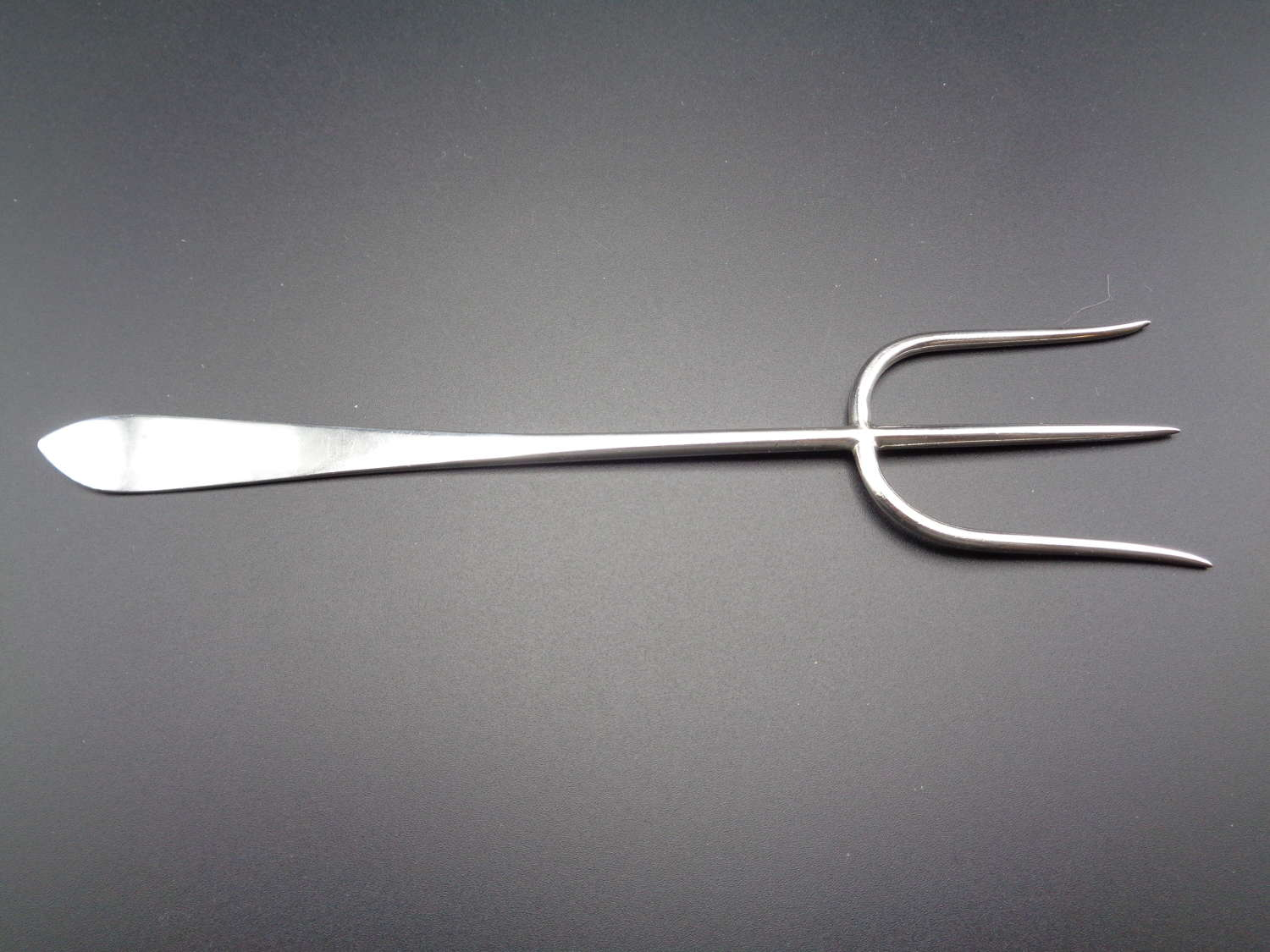 Solid Silver Bread Fork