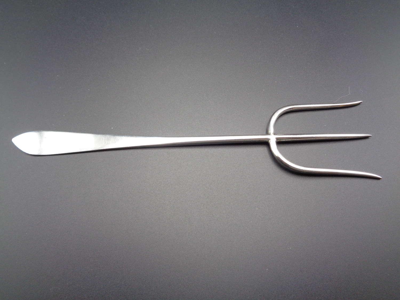 Solid Silver Bread Fork