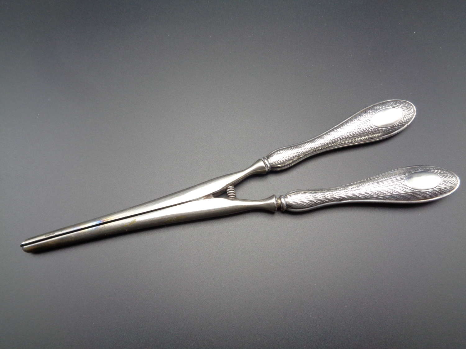 Edwardian Silver Handled Glove Stretchers
