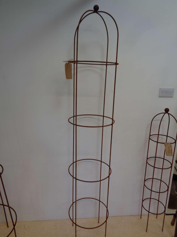 Garden Metal Obelisk Plant Support - Extra Large