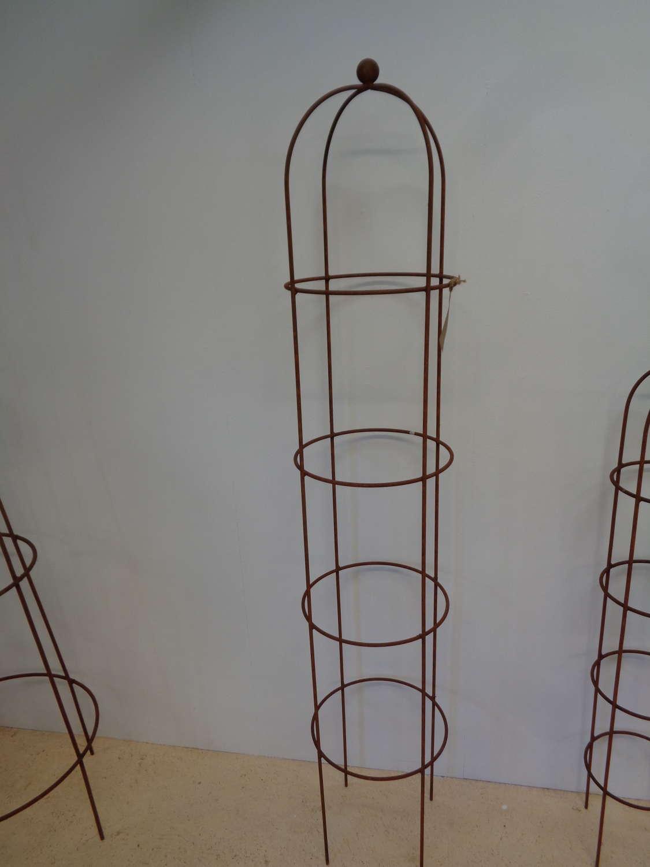 Garden Metal Obelisk Plant Support - Large