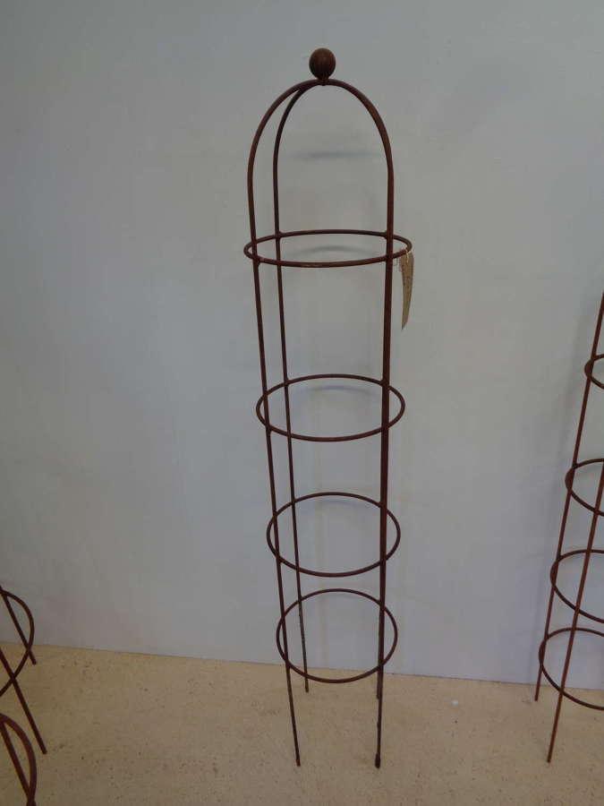 Garden Metal Obelisk Plant Support - Medium