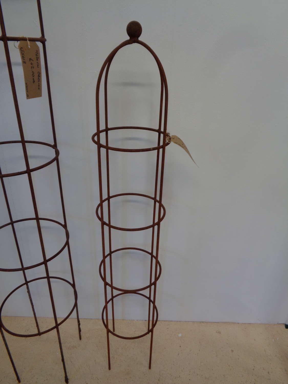 Garden Metal Obelisk Plant Support - Small