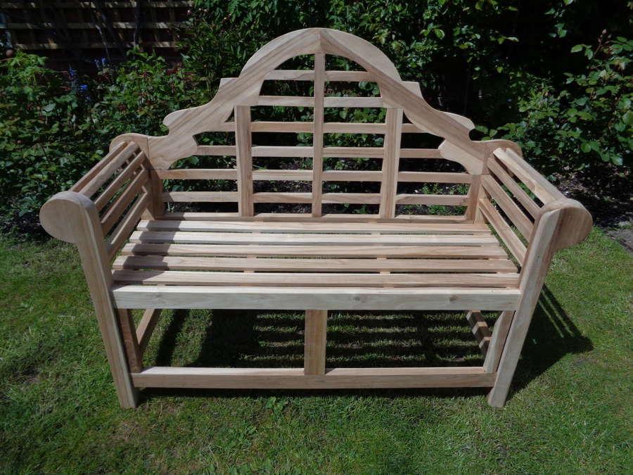 Lutyens Garden Bench - 2 Seater