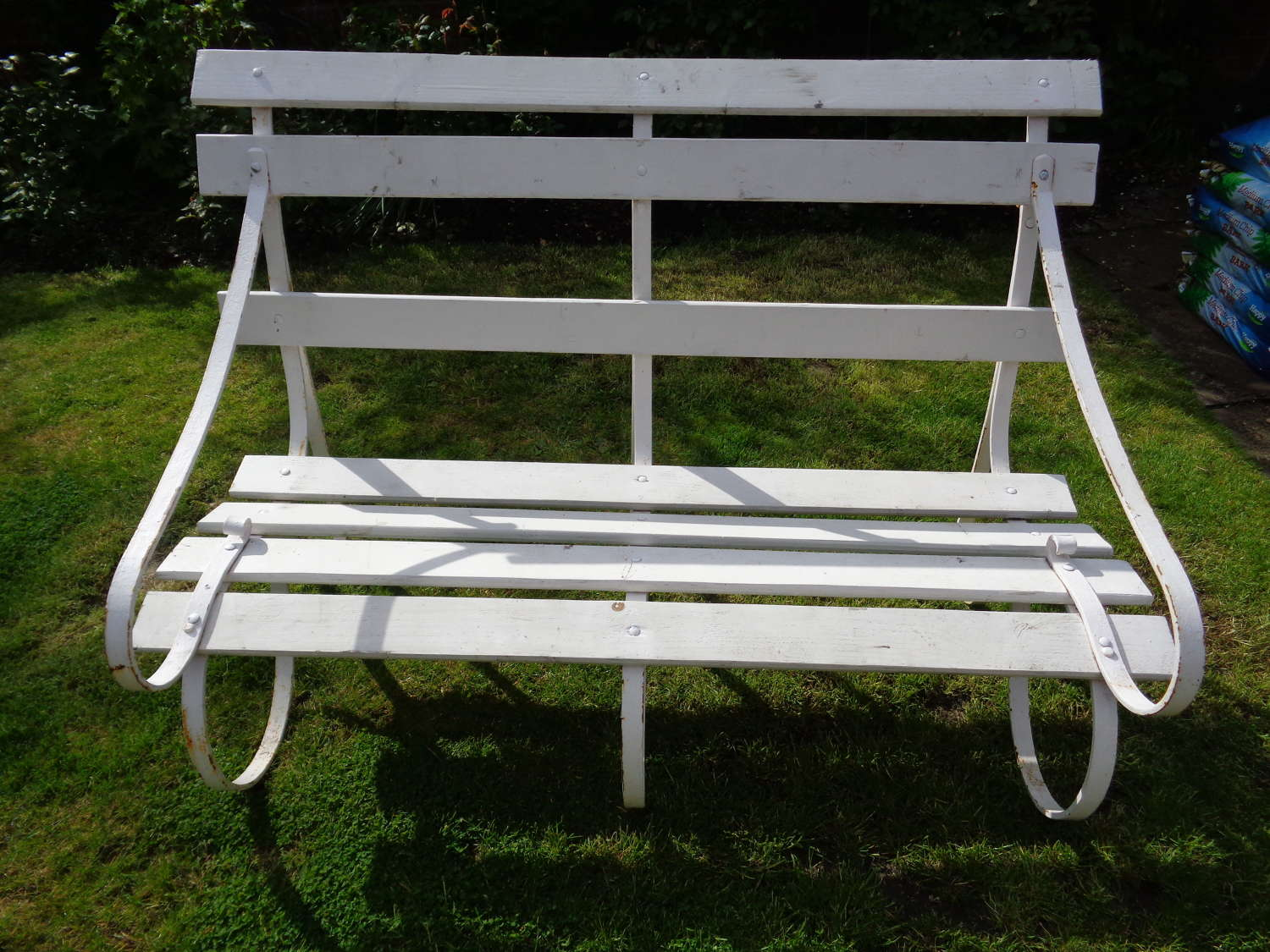Old English Country House Garden Bench