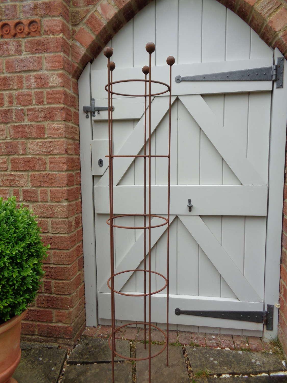 Garden Metal Turret Obelisk Plant Support - Small