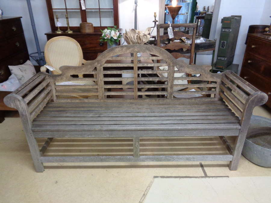 Vintage Lutyens Garden Bench