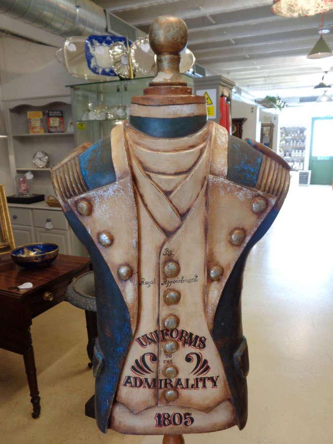 Vintage Mannequin - Decorated as Georgian Sea Captain